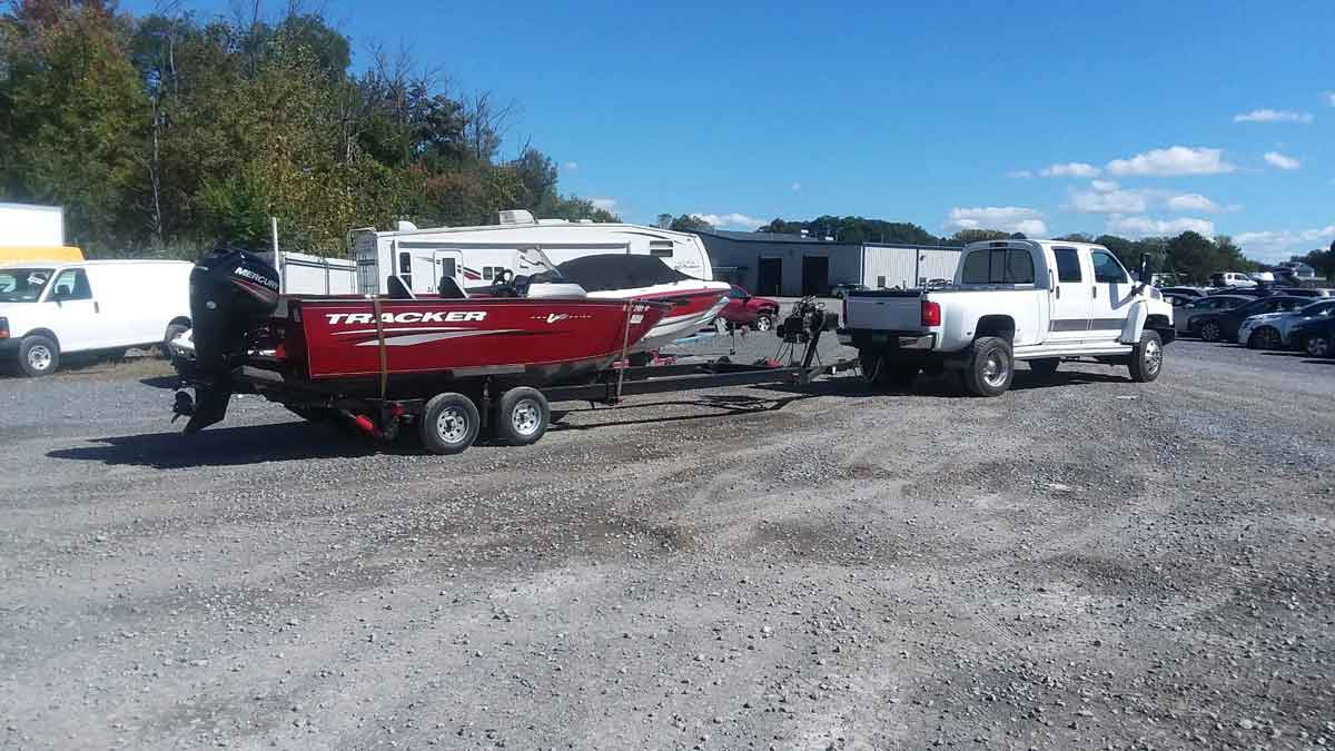 Boat Hauling Vermont