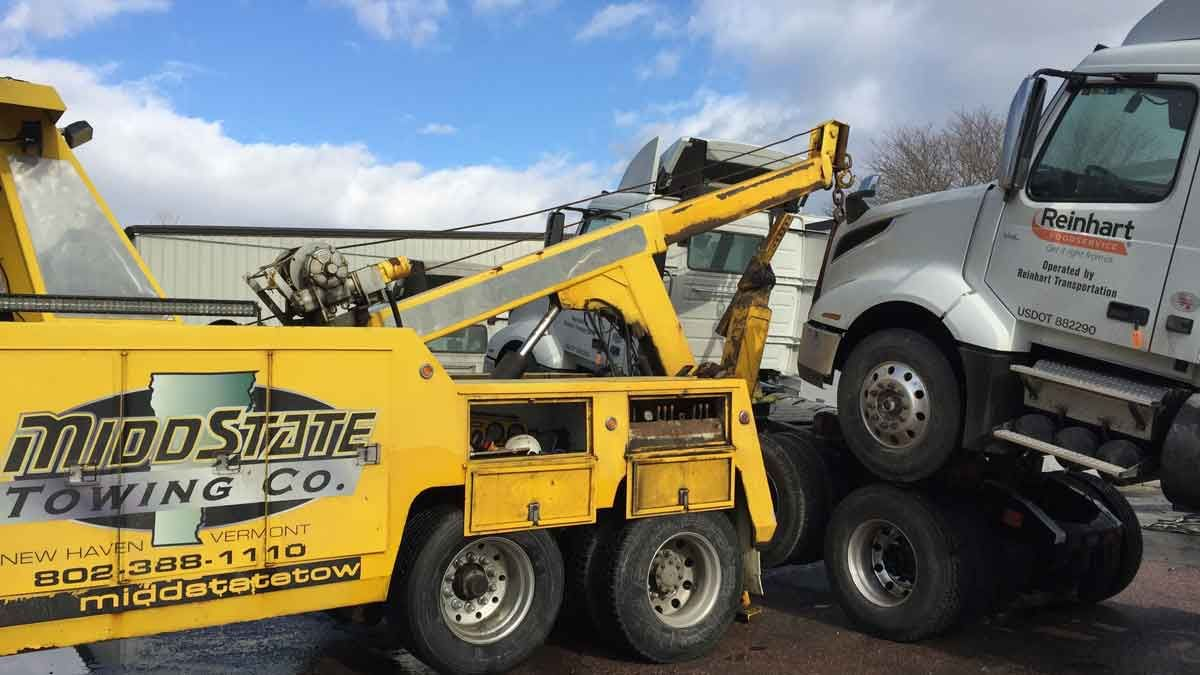 Commercial Truck Towing Vermont