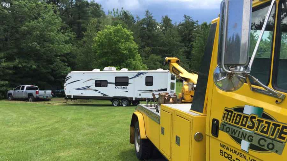 RV Towing Vermont